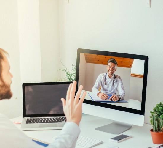Video call concordis medical practice