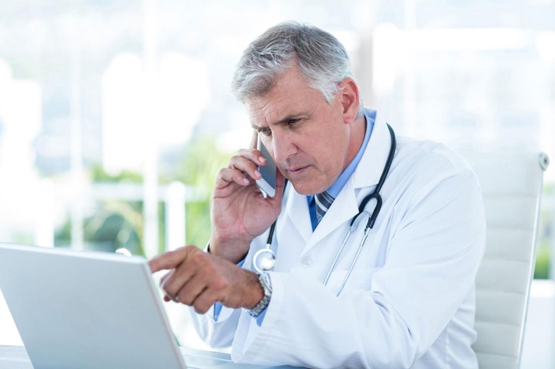 doctor looking short network